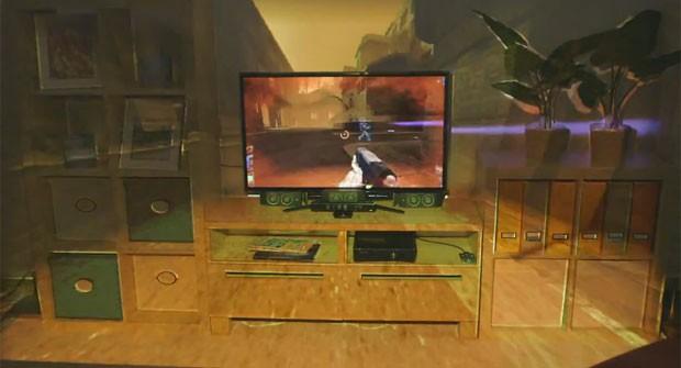 Sala De Tv Com Projetor ~ xBox 720, projeto ilumiRoom  Blog do Robson dos Anjos