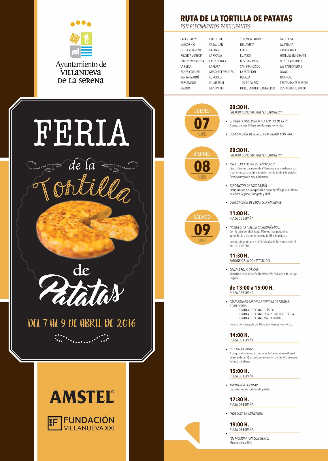 FERIA DE LA TORTILLA DE PATATA