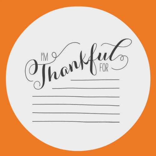 Stampin' Up! I'm Thankful For wood-mount rubber stamp