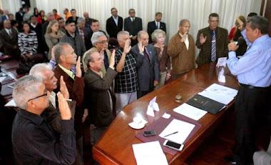Gobernador Ramón Guevara juramentó comisión técnica para resolver situación de desechos sólidos