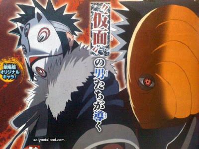Menma dan Tobi - Siapakah Menma ? Versi Lain Naruto di Road to Ninja