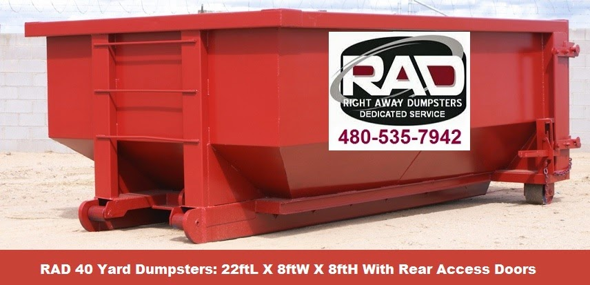 Rolloff Dumpster Rentals in the Tucson area
