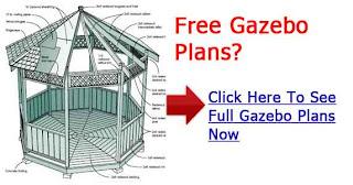 Octagon gazebo plans gazebo building designs solutioingenieria Image collections