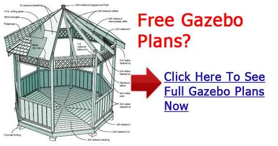 Octagon gazebo plans for Plans for gazebo with fireplace