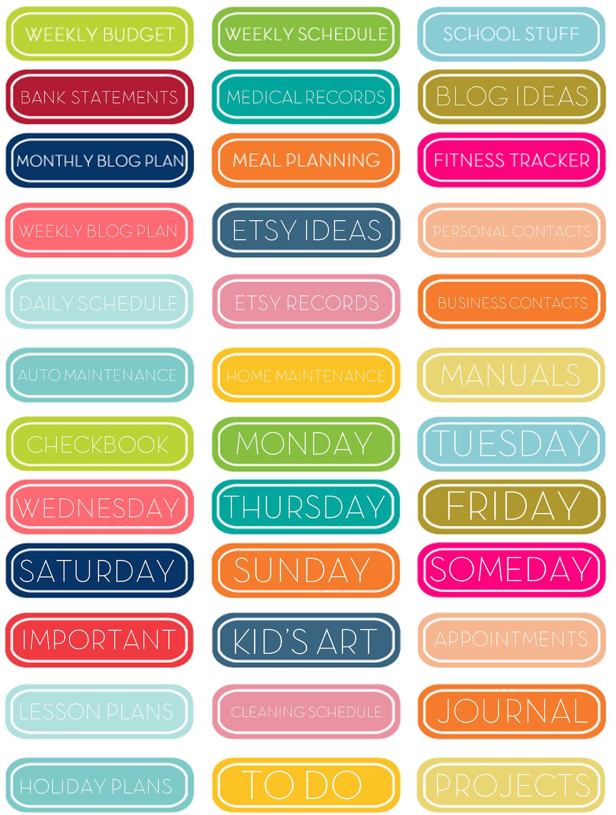 Cute Class Schedule Template Weekly schedule, budget,