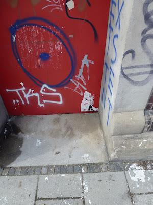 Streetart, Urbanart, Sticker, Graffiti