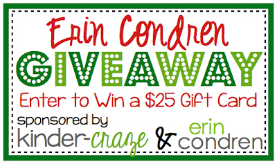 Enter to win a $25 Erin Condren gift card!
