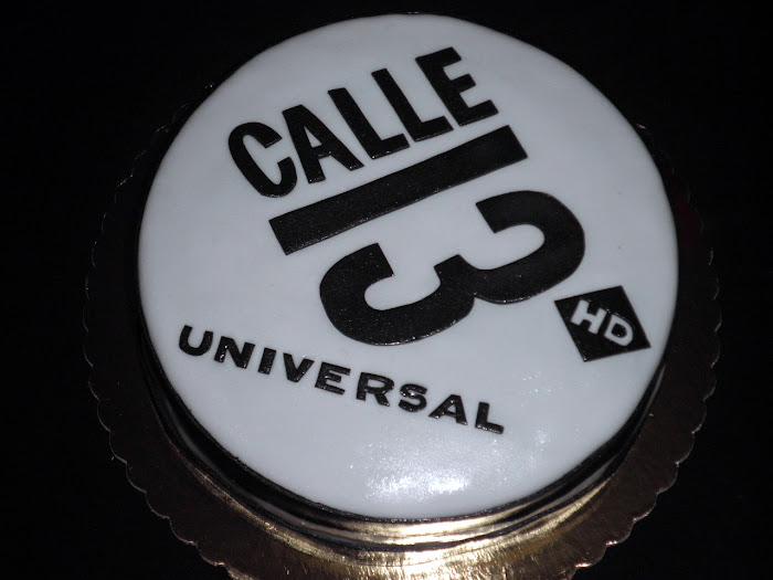 Tarta Calle 13