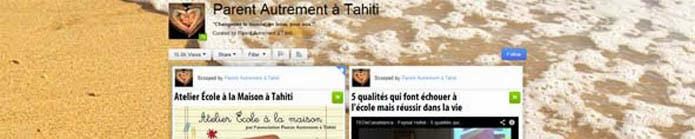 Parent Autrement à Tahiti