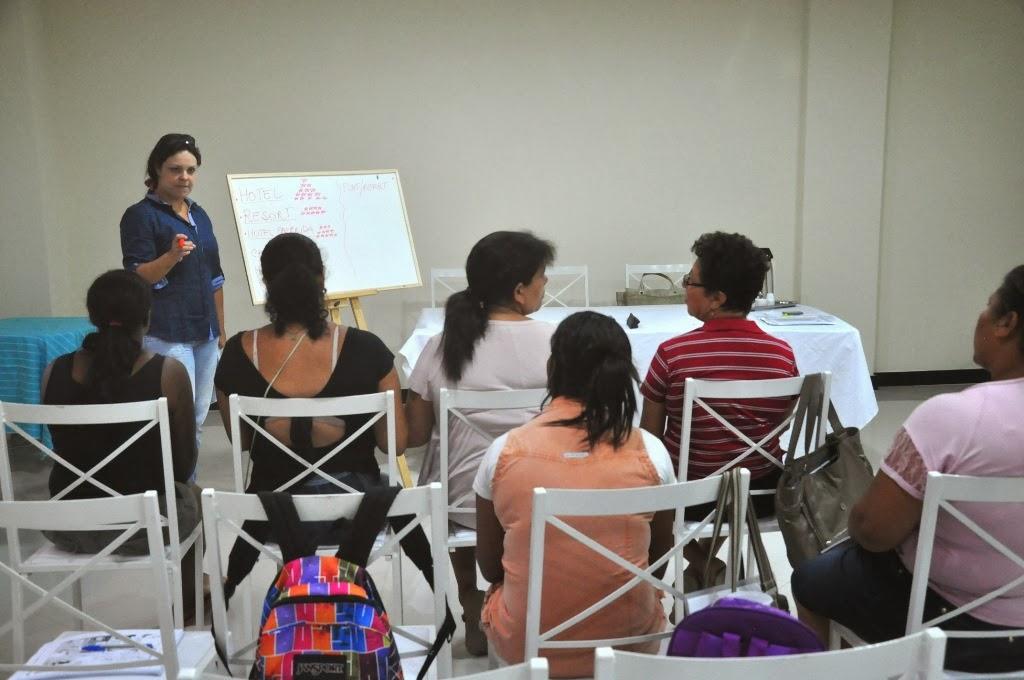 Foto Capacitação Mulheres (139) A capacitação e inserção da mulher no mercado de já está na sua fase profissional