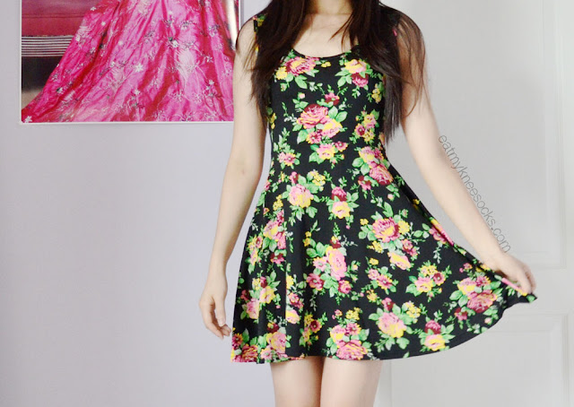This cute, ulzzang-style floral sundress can be found at Milanoo for just $15, and it's a great, versatile item for the summer season.