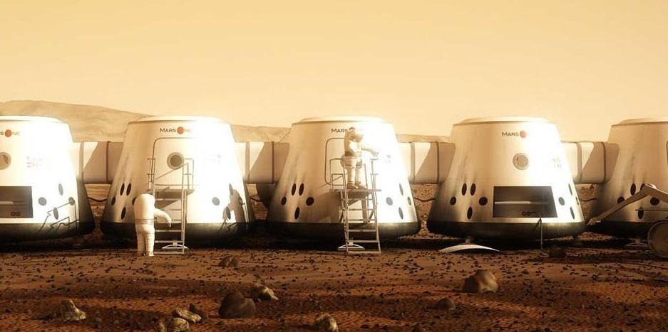 Mars One human colony Mars. Credit: Mars One
