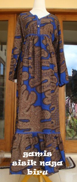 HanimaOnline Batiq Boutique GAMIS BATIK HERINGBORN