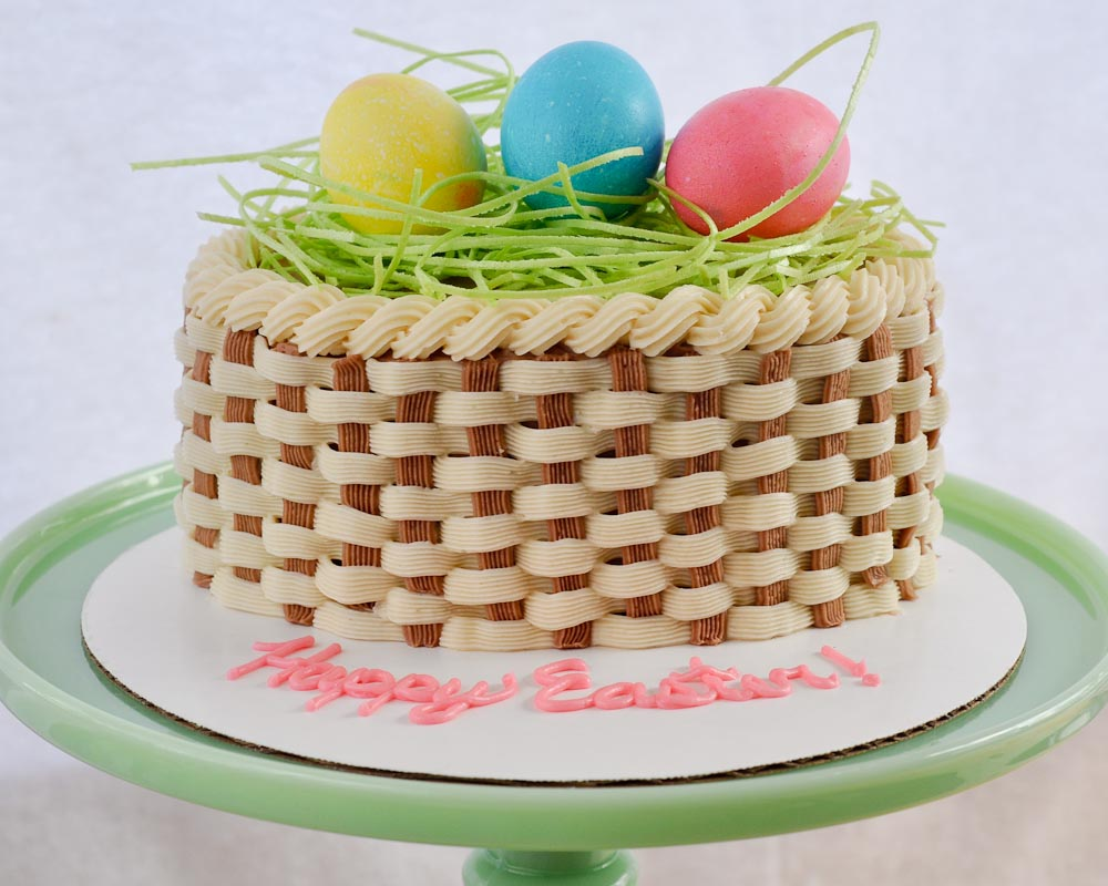 Beki Cooks Cake Blog How To Make a Basket Cake Video