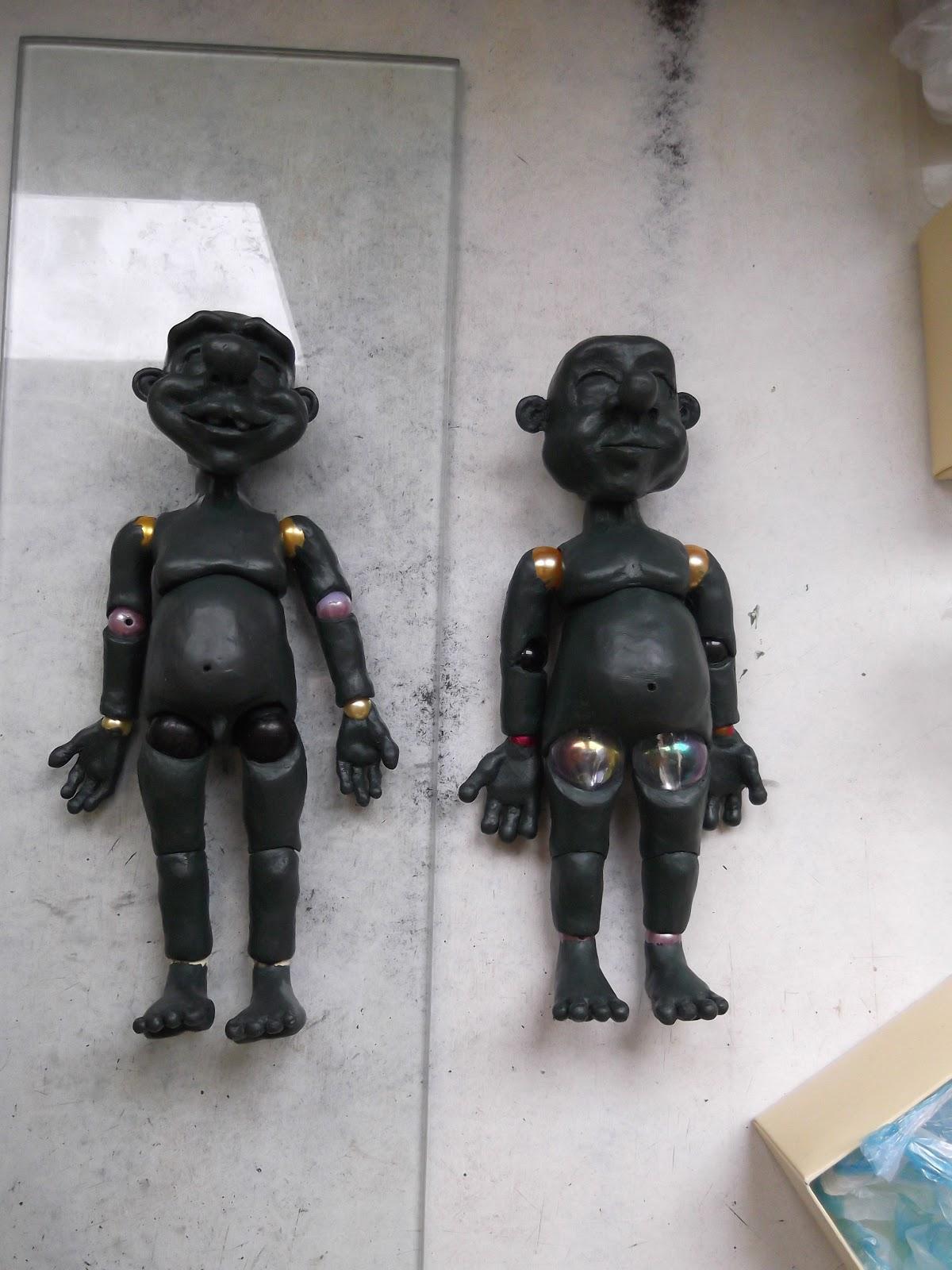 эскиз шарнирной куклы: