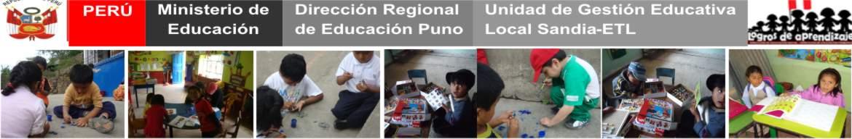 Programa Estrategico Logros de Aprendizaje PELA UGEL SANDIA