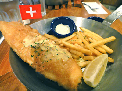 Swiss Fish and Chips at Fish & Co., Paragon Singapore