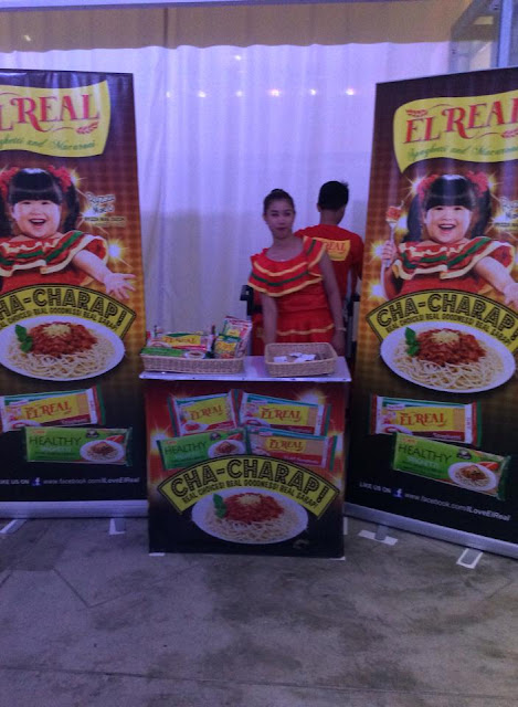 El Real Pasta booth, top pick,