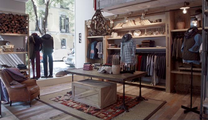 Decoracion Vintage Para Tienda De Ropa ~ Nueva tienda de Victorio & Lucchino en Madrid, en clave vintage