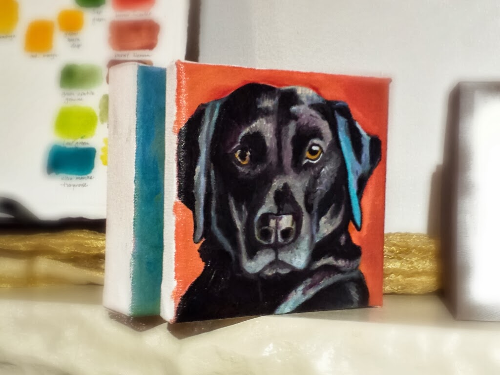 Black Lab...in process