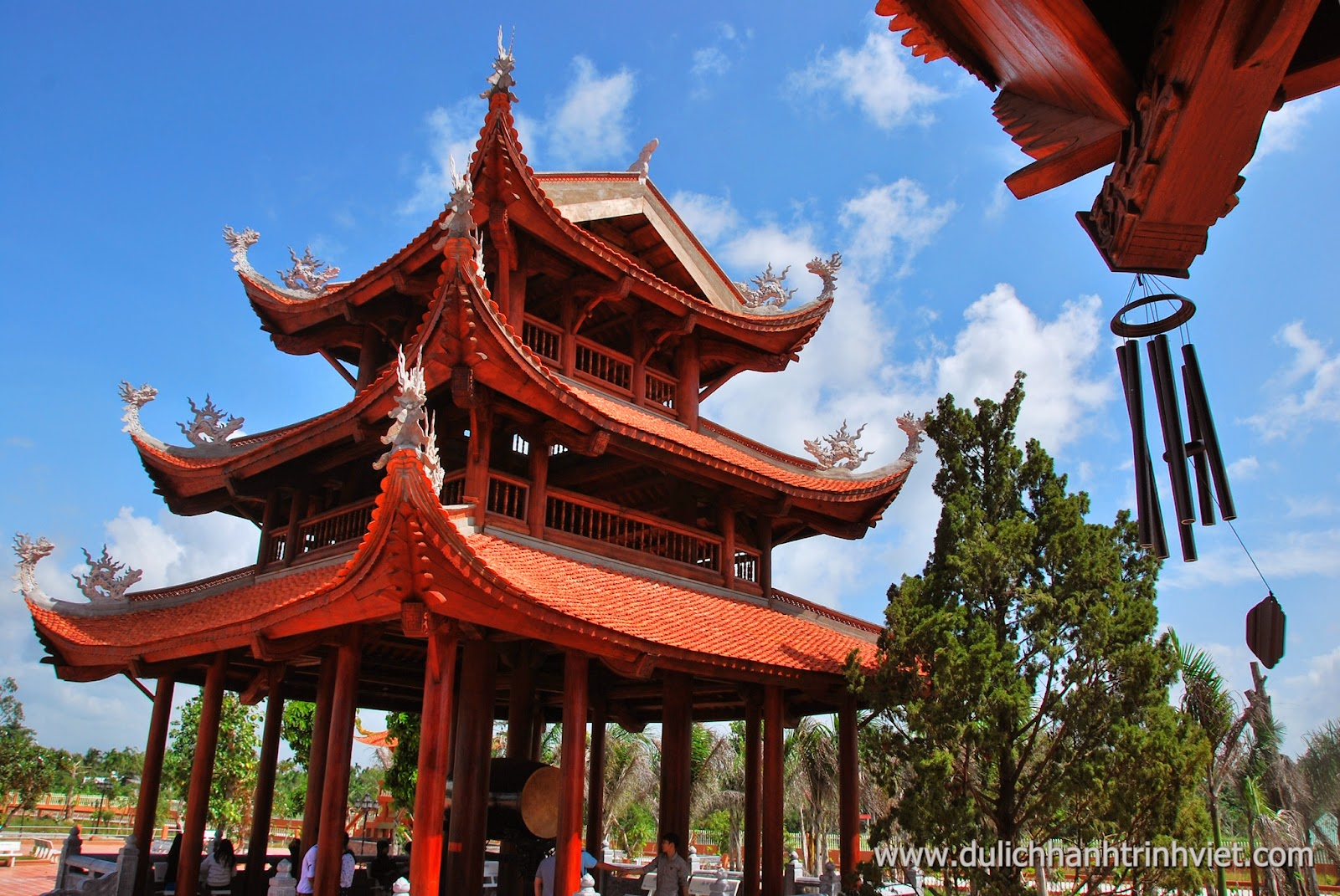 Tham quan Thiền Viện Phương Nam, Mỹ Khánh, Cần Thơ