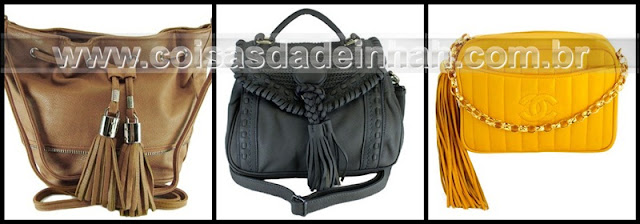 tassel franja bolsa moda outono inverno 2012 primavera vero 2013