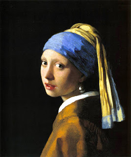 turbante joven de la perla