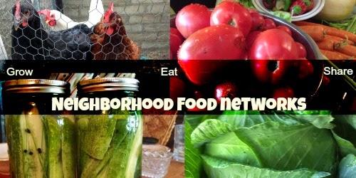 Neighborhood food networks build food security.
