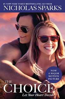The Choice by Nicholas Sparks paperback book