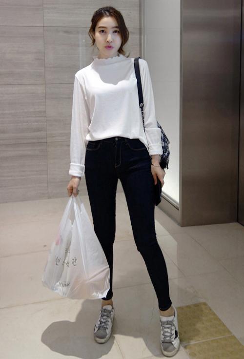 Stretch Dark Skinny Jeans