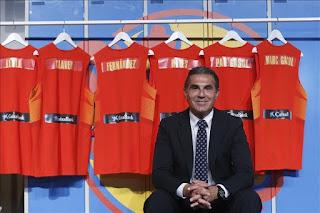 BALONCESTO - Nikola Mirotic es la novedad en la lista de convocados de España para el Eurobasket 2015
