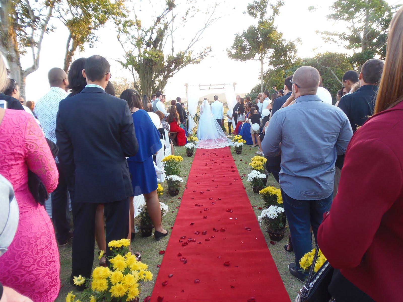 caminho dos noivos
