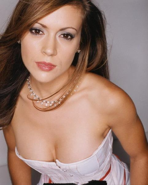 Alyssa Milano, Stuff Magazine Model