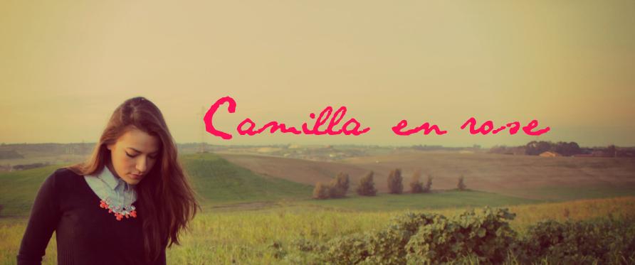 Camilla en rose