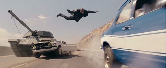Tyrese Gibson em VELOZES & FURIOSOS 6 (Fast & Furious 6)
