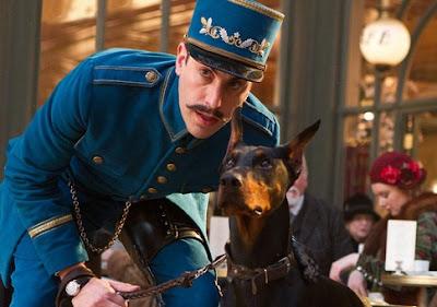 station police watch dog, hugo