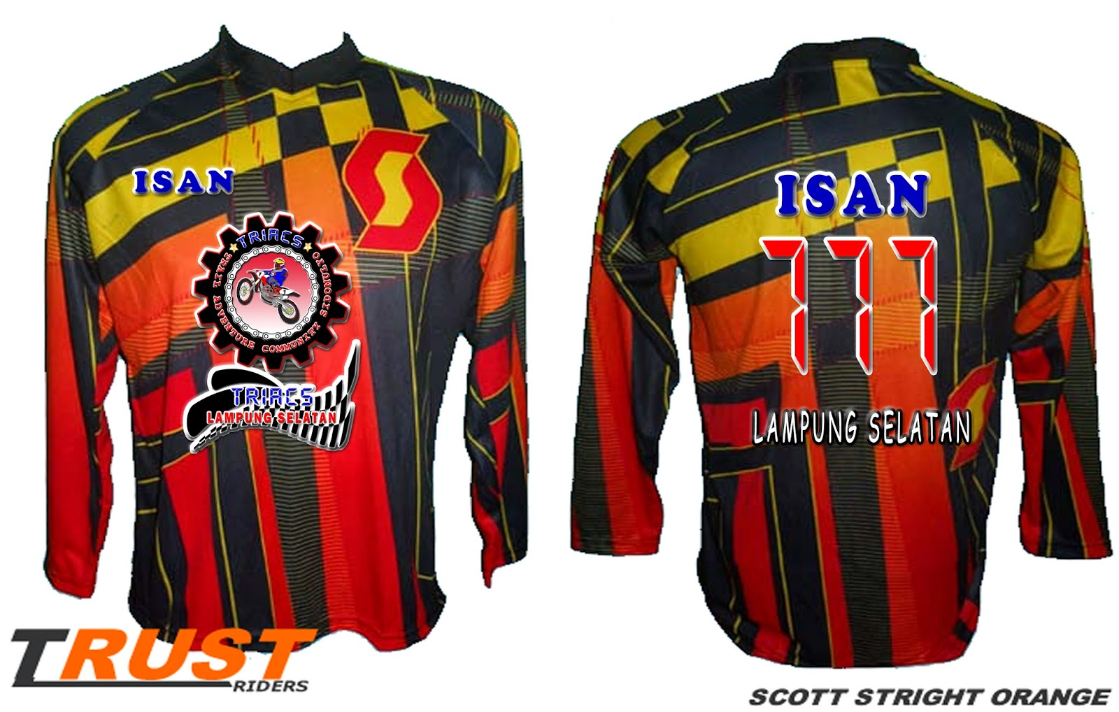 Contoh Jersey Trail