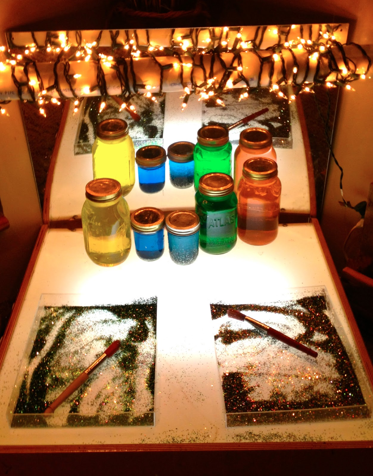 Reggio Inspired Color Fairy Dust Teaching