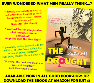 Steven Scaffardi, The Drought, Stand Up Comedy, Stand Up Comedian, Comedian, Comedy, Lad Lit, Chick lit for men, funny books, Christmas presents, Christmas present for women, Christmas present for men, Gifts for men, Gifts for women, Books for men, Books for women,