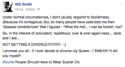 Will Smith And Jada Pinkett Smith Denies All Divorce Rumors