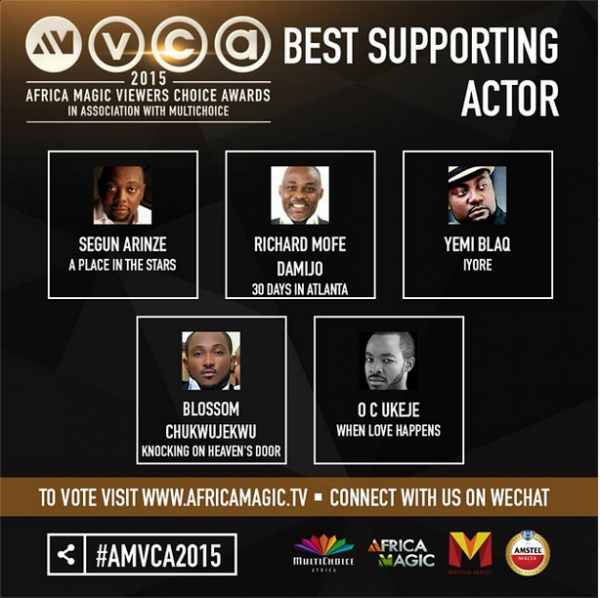 africa magic viewers choice awards 2015 nominees