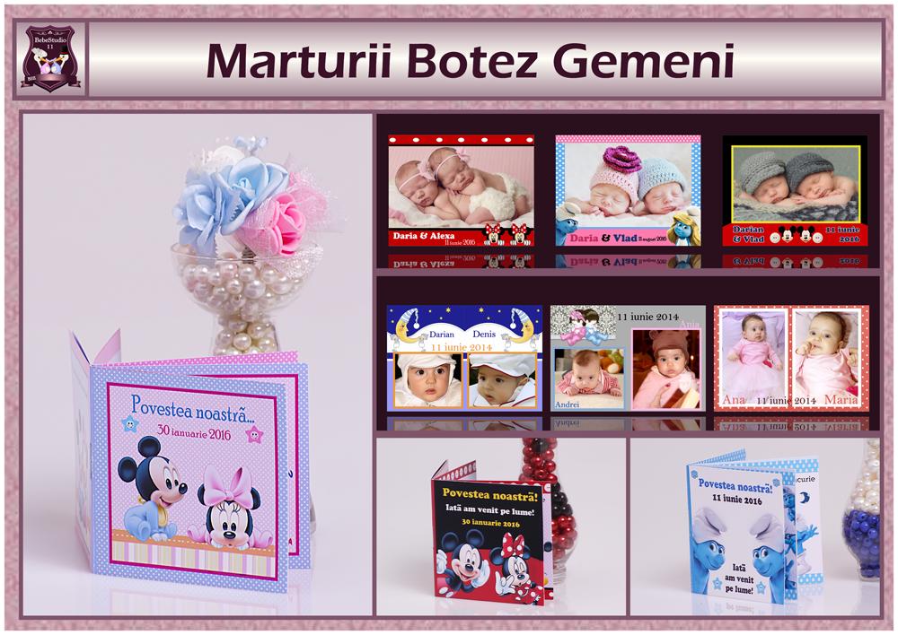 GEMENI - MARTURII
