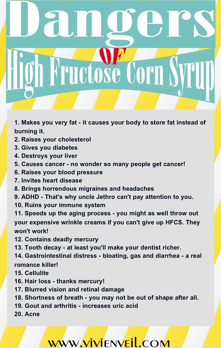 A Not-So-Sweet Story – High Fructose Corn Syrup