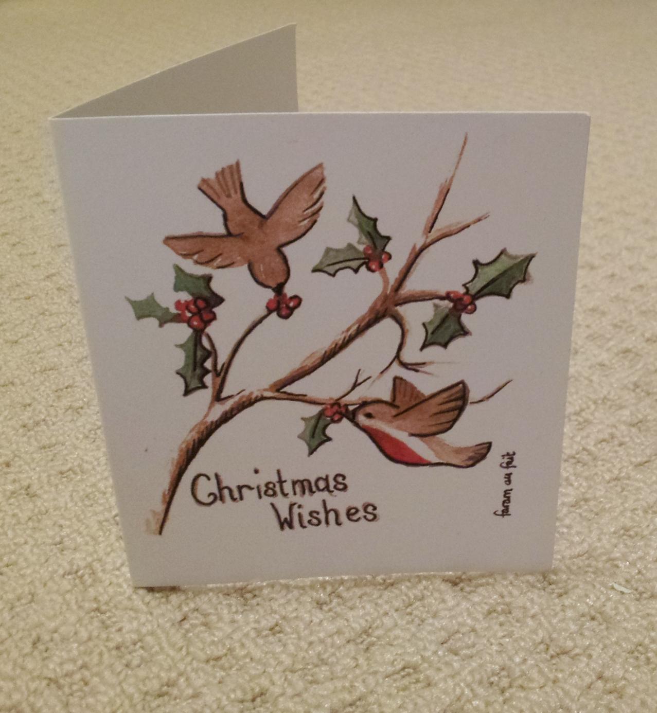 Faram au fait: Christmas cards for 2011