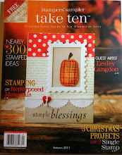 Published Work Stamplers' Sampler Take Ten Autumn 2011
