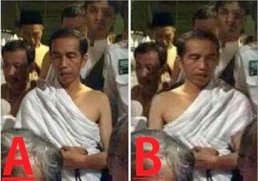 Baju Ihram Jokowi