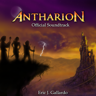 AntharioN Official Sountrack Cover Art
