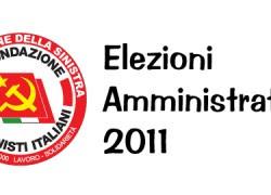 LINEE PROGRAMMATICHE FdS Elezioni 2011