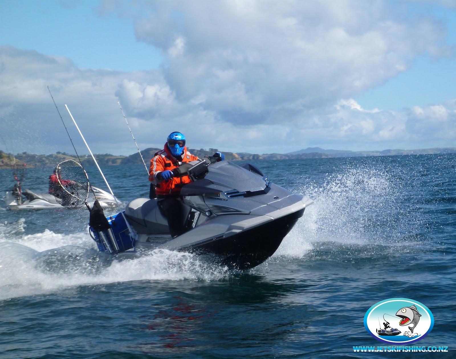 Jet ski fishing blog august 2012 for Fishing jet ski