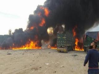 ΒΙΝΤΕΟ ΚΟΛΑΣΗ: Ρωσικά μαχητικά βομβάρδισαν τουρκικό κονβόι στη Συρία - Πολλοί νεκροί και τραυματίες